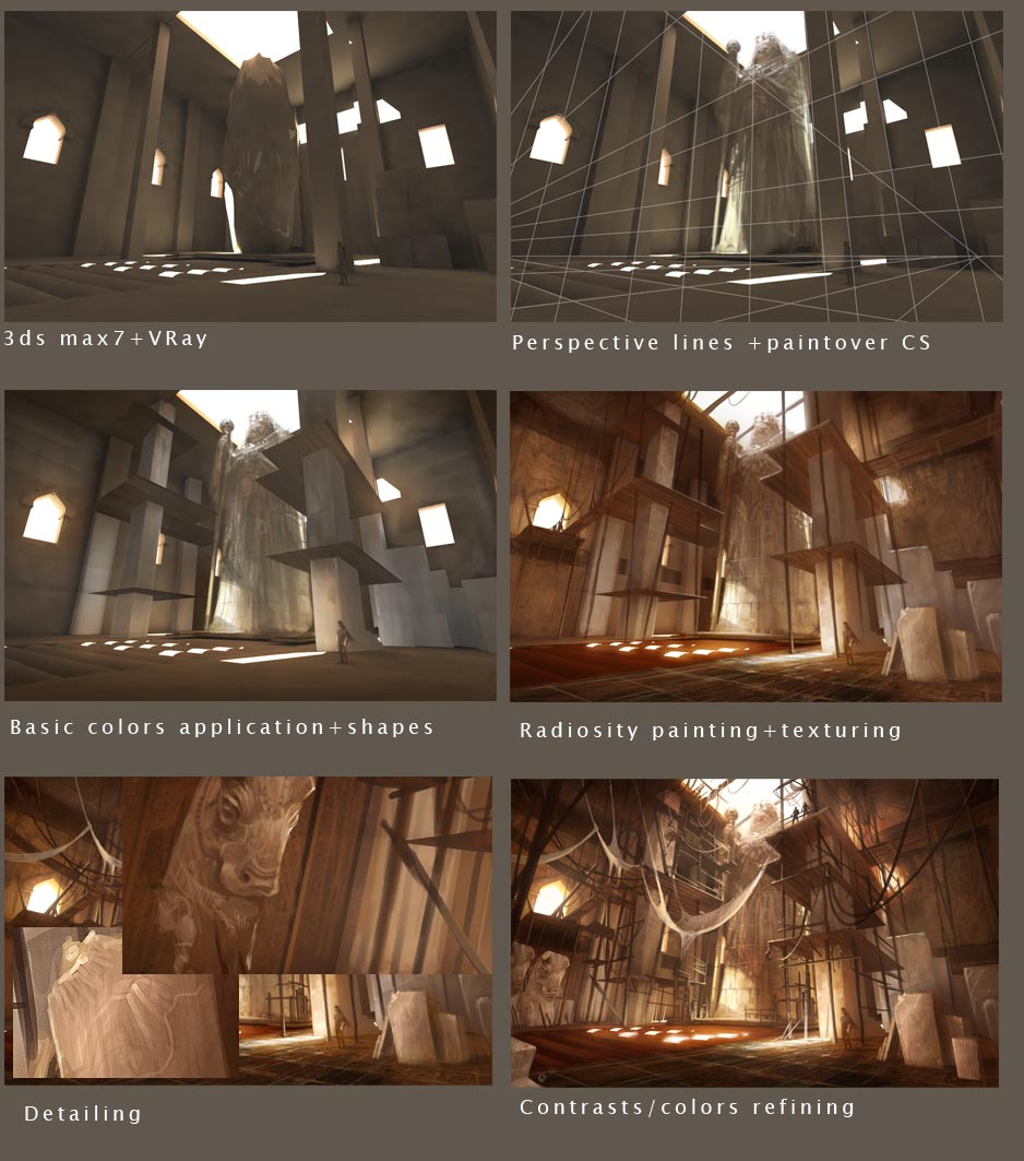 More Prince of Persia 3 concepts-vyle (edit_02:steps page 1)